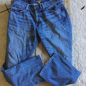 Lucky brand 221original boot Jean's
